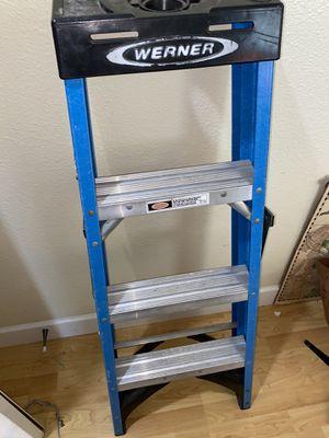Werner 4 foot ladder for Sale in South San Francisco, CA