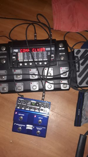 Digitech RP 1000 & JAM MAN STERIO LOOPER for Sale in Mesa, AZ