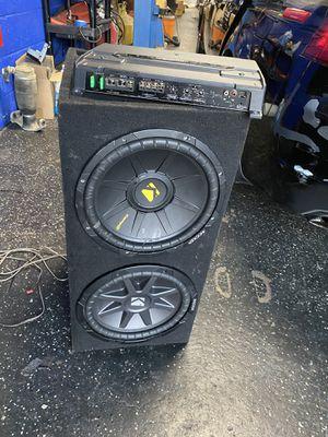 Subofer kicher de 10 pulgada mas amplificador kenwood for Sale in Washington, DC
