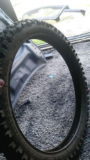 Front dirt bike tire for Sale in Riverside, CA