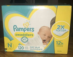 Pampers Swaddlers 120 ct. for Sale in undefined