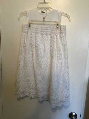 2 Piece White Skirt Outfit for Sale in Oak Park, MI