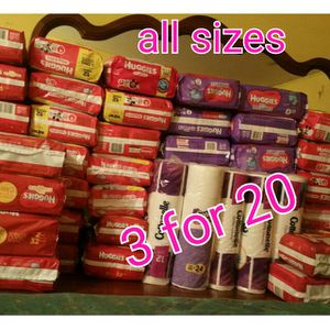 Huggies Diapers and Pull ups for Sale in Miami, FL