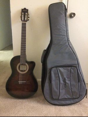 Ibanez Acoustic Electric Guitar (With Case) for Sale in Annapolis, MD