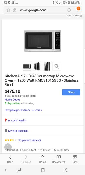 Microwave Oven **KitchenAid ** for Sale in Santa Monica, CA
