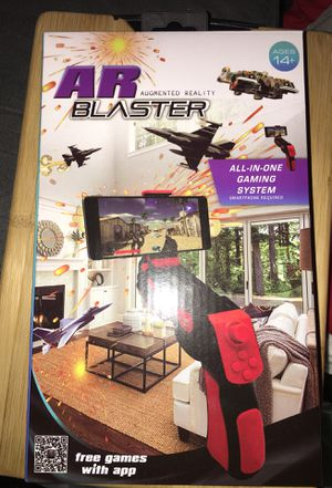 AR BLASTER Augmented Reality 360 Degree Portable Gaming VR Gun for Sale in Rochester, MN