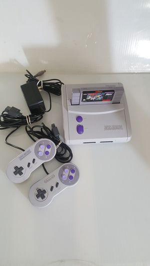 Nintendo snes console for Sale in San Jose, CA