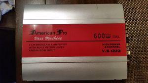 600 watt amplifier for Sale in Alexandria, VA