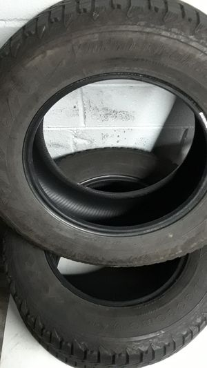x3 Firestone tires 245/65r17 lots tread for Sale in Herndon, VA