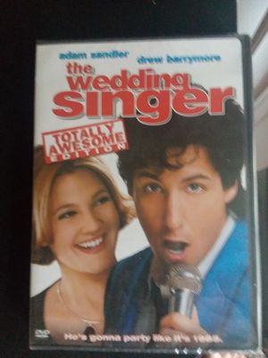 The wedding singer dvd for Sale in Traverse City, MI