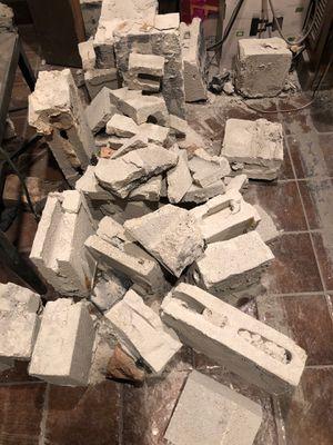 Free broken concrete pieces for Sale in Miami, FL