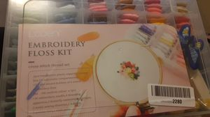Embroidery floss kit for Sale in Laredo, TX