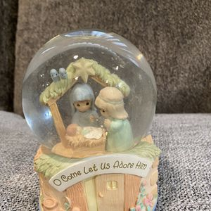 Precious Moments Water Snow Globe for Sale in Sheridan, OR