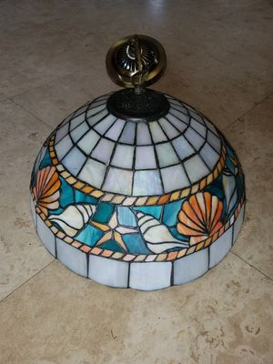 Key west tiffany style lamp chandelier for Sale in Boca Raton, FL