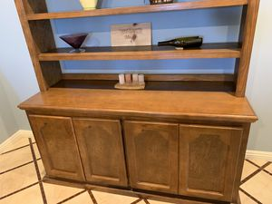 REDUCED for Christmas! Stunning Solid Ash Custom Bookcase for Sale in Temecula, CA