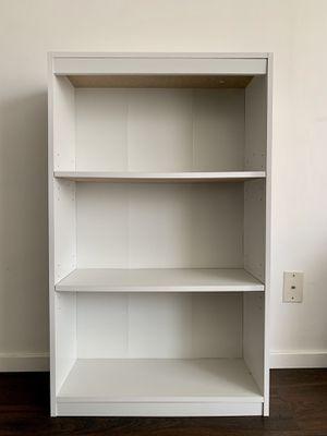 White 3-Shelf Bookcase for Sale in Los Angeles, CA