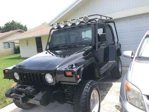 2000 Jeep Wrangler & 2002 sportster both run strong for Sale in VLG WELLINGTN, FL