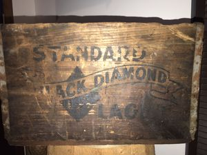 """Black Diamond Mt Carmel Wooden Beer Case in good condition for its age. 17"""" W x 12 3/4"""" D x 11"""" H. for Sale in New Ringgold, PA"""