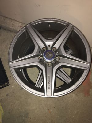 Two 19inch AMG Mercedes-Benz Alloy/Aluminum Rims for Sale for sale  Lithonia, GA