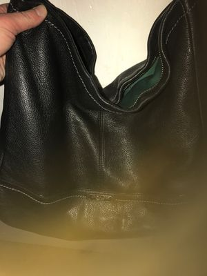 Authentic Coach purse black for Sale in Burleson, TX