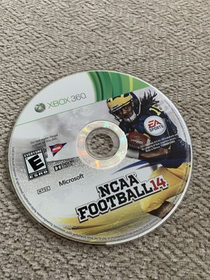 NCAA 14 Football XBOX 360 game for Sale in Damascus, OR