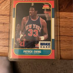 Patrick Ewing 1986 fleer a rookie card PSA immaculate for Sale in Clackamas,  OR