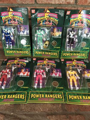 POWER RANGERS AUTO MORPHIN - ALL 6 - VINTAGE 1994 - IN BOX STILL SEALED NEVER OPENED Toys for Sale in La Mesa, CA