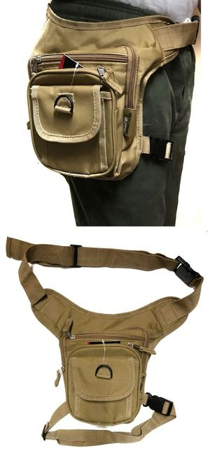 Brand New! Tan Waist/Hip/Thigh/Leg/Crossbody/Holster/Pouch/Bag For Work/Traveling/Hiking/Hunting/Biking/Sports/Gym/Fishing/Outdoors/Work $14 for Sale in Carson, CA