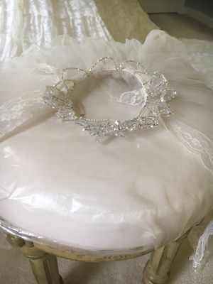 Wedding Dress and Veil for Sale in Mount Airy, MD