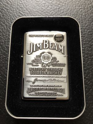 Vintage Jim beam zippo for Sale in Clinton Township, MI