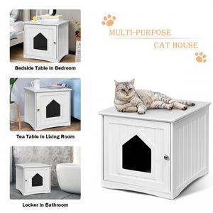 Sidetable Nightstand Weatherproof Multi-function Cat House for Sale in Los Angeles, CA