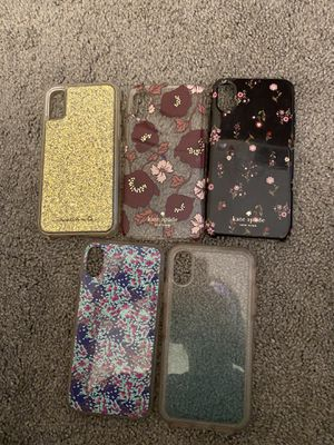 iPhone X Cases (casemates, Kate spade, otter box) for Sale in Mayfield Heights, OH