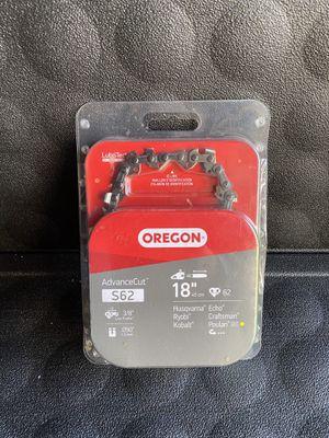 Oregon 18 in. Chainsaw Chain for Sale in Redlands, CA