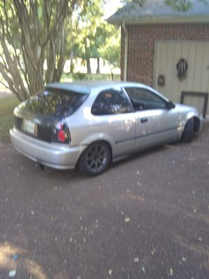 96 Honda Civic hatchback racing exhaust racing suspension extra header and brand new clutch comes with for Sale in Smyrna, TN