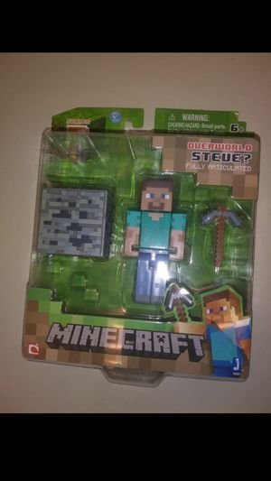 Minecraft Toy- Steve (New) for Sale in NC, US