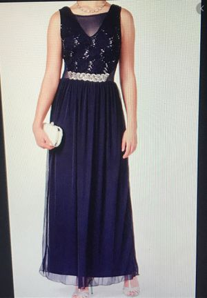 navy blue prom dress for Sale in Fort Lauderdale, FL