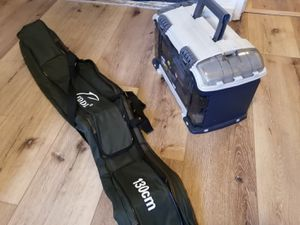 Fishing case and box for Sale in Richmond, CA