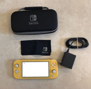 Like New Nintendo Switch with Original Nintendo Case and Charger for Sale in Phoenix, AZ