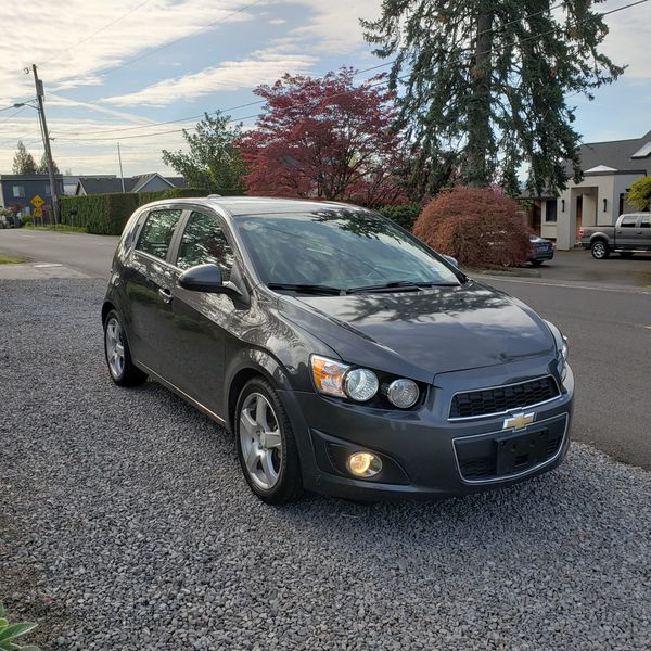 2016 Chevy Sonic LTZ turbo 42k miles