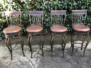 Four never used bar stools for Sale in Fresno, CA