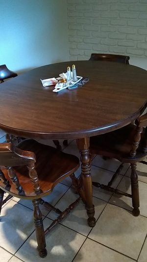 Table and 4 chairs for Sale in Toms River, NJ