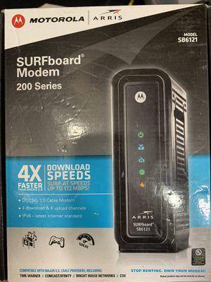Motorola surfboard modem 200 series for Sale in Houston, TX
