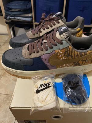 Travis Scott cactus jack Air Force 1 10.5 for Sale in Long Beach, CA