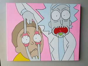 Rick and Morty Painting for Sale in New York, NY