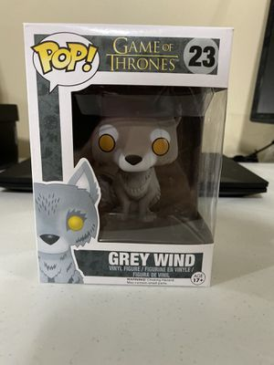 Game of Thrones Grey Wind funko pop 23 for Sale in Lincoln, NE