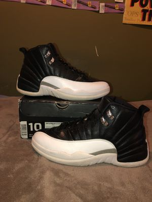 """Jordan 12 """"Playoffs"""" size 10 for Sale in Silver Spring, MD"""