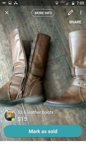 Sz 6.5 women boots for Sale in Prattville, AL