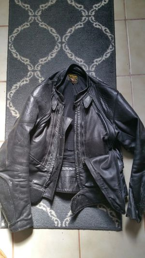 Vanson's Motorcycle leather jacket size 44 for Sale in Maynard, MA
