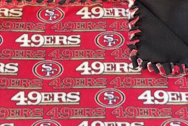 San Francisco 49ers Fleece Blanket for Sale in Las Vegas,  NV