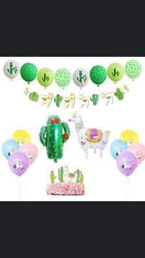Alpaca Llama Balloon Kit Party Supplies, Latex Balloons Garland for Baby Shower Birthday Home Decor for Sale in Long Beach, CA